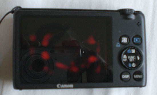 Canon Powershot S95 faulty display